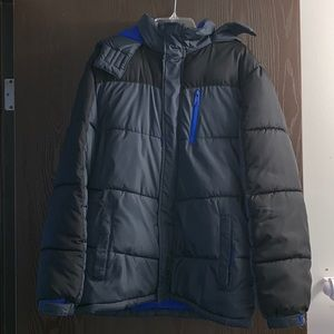 Boys winter hooded coat